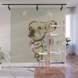 Charley - Friend of Lelu Wall Mural
