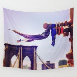 Locks of Love, Brooklyn Bridge Wall Tapestry
