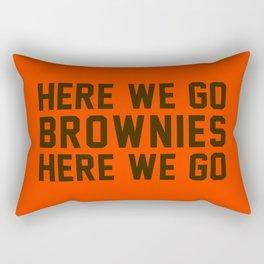 Here We Go Brownies Here We go Rectangular Pillow