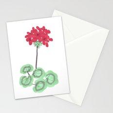 Wembley Gem Red Flower Stationery Cards