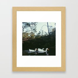 move it or lose it Framed Art Print