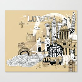 London England Canvas Print