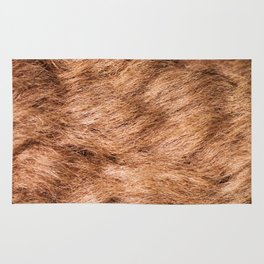 Safari Bison Fur Rug
