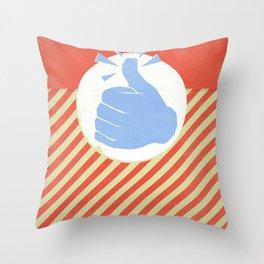 Thumbs Up! Throw Pillow