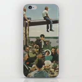 A Family Reunion iPhone Skin