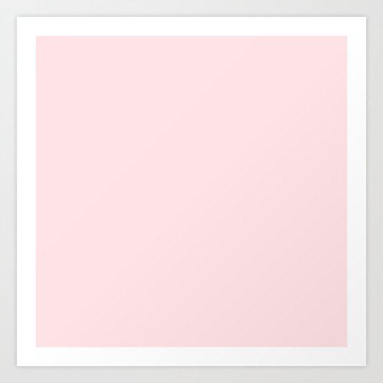 Simply Pink Flamingo Art Print
