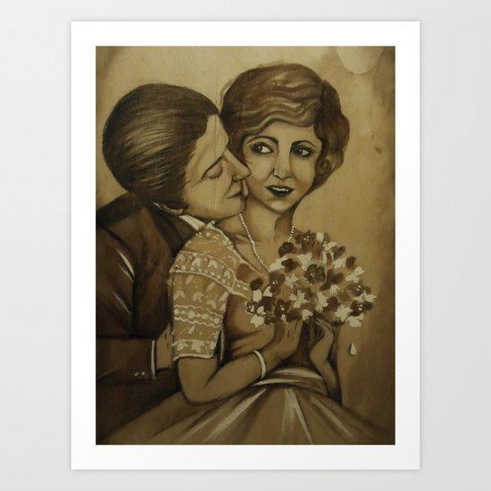 old love Art Print