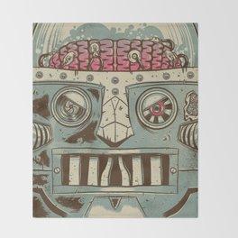 Domo Arigato Mr Roboto Throw Blanket