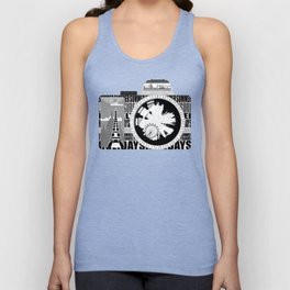 camera - holiday snaps Unisex Tank Top