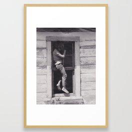 Landfill 1970s Framed Art Print