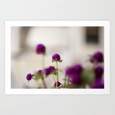 adorable flowers  Art Print