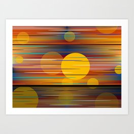 Colors Of A Sunset Art Print