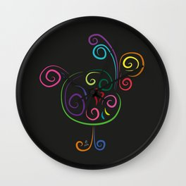 The rooster - The heart of Esperanza Wall Clock