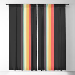 Retro Tipua Blackout Curtain