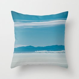 Somewhere Over the Clouds Throw Pillow