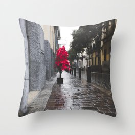 Christmas landscape Throw Pillow