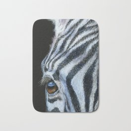 Zebra Detail Bath Mat