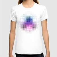 ombre T-shirts featuring Glitter Ombre by Berberism