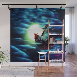 the sunny flaying Wall Mural