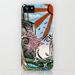 Japan: The Land of Games iPhone Case