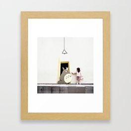 IMAGINARY BUDDY Framed Art Print