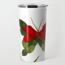 Butterfly-Rose Travel Mug