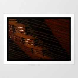 Pianoforte, Tacet Art Print