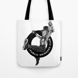 The Public Drinkers Club Tote Bag