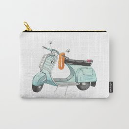 Watercolour | Bali Scooter Carry-All Pouch