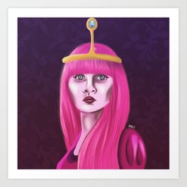 Bubblegum Princess Art Print