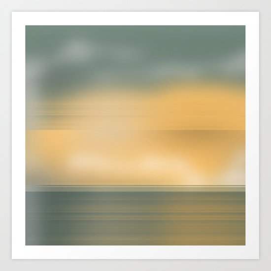 Sea Sky Art Print