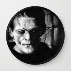 THE MONSTER of FRANKENSTEIN - Boris Karloff Wall Clock