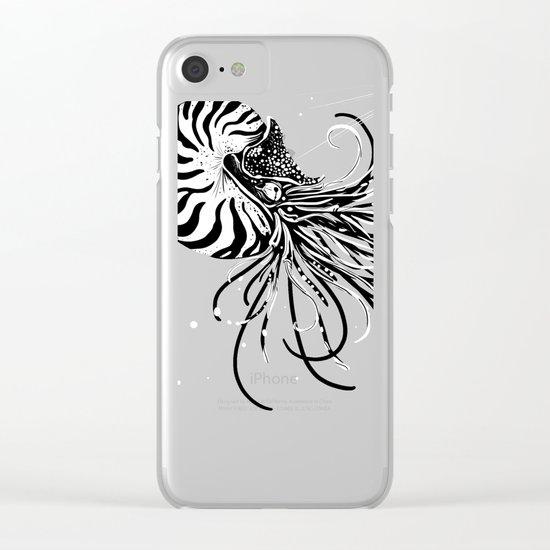 Nautilus Dominus Clear iPhone Case