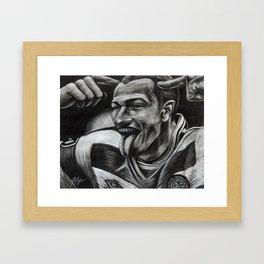 HENRIK LARSSON Framed Art Print