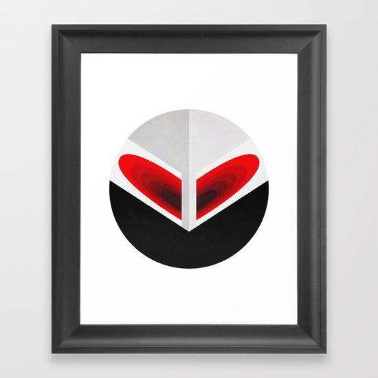 Cosmic Love Framed Art Print