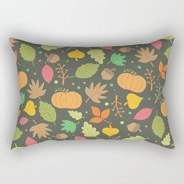 Thanksgiving pattern Rectangular Pillow