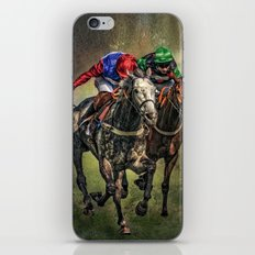 The Race iPhone & iPod Skin