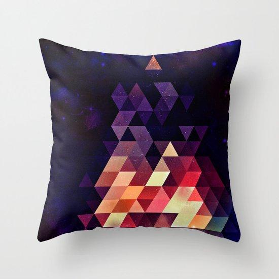 Th'tymplll Throw Pillow