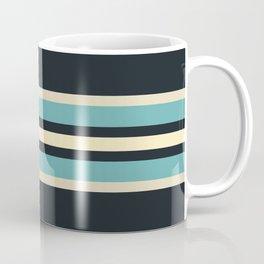 Fusahide - Classic 70s Retro Stripes Coffee Mug