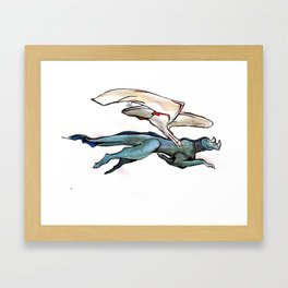 Noble Flyer Framed Art Print