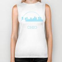 ohio Biker Tanks featuring Columbus, Ohio by MattXM85