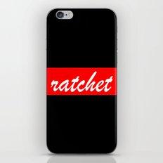 ratchet   Typography iPhone & iPod Skin