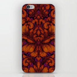 Gothic Flowers iPhone Skin