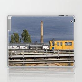 Yellow Train - Berlin Laptop & iPad Skin