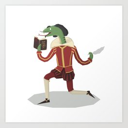 William Snakespeare Art Print