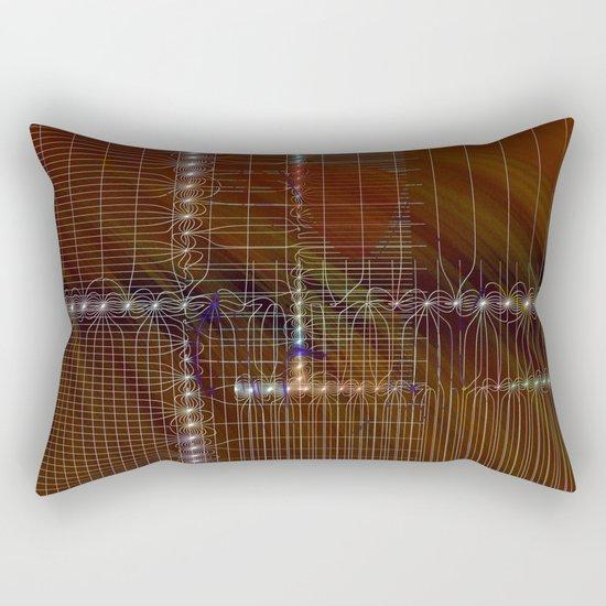 metro plan Rectangular Pillow