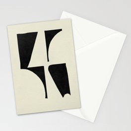Curve Cuts Stationery Cards