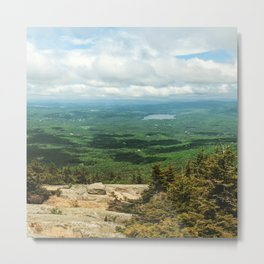 Mount Kearsage Metal Print