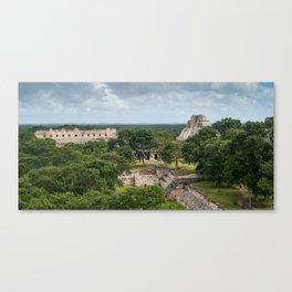 Uxmal Canvas Print