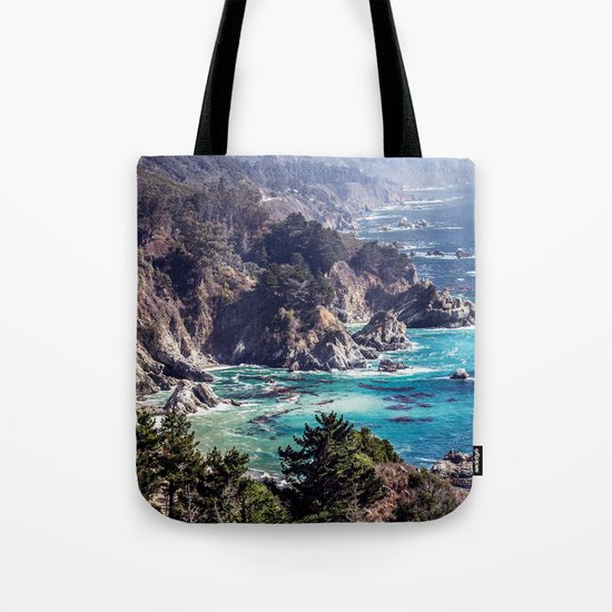 Coastline sea Tote Bag